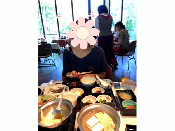 レジーナリゾート富士の朝食の和食膳
