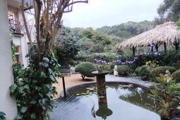 四季の蔵の庭