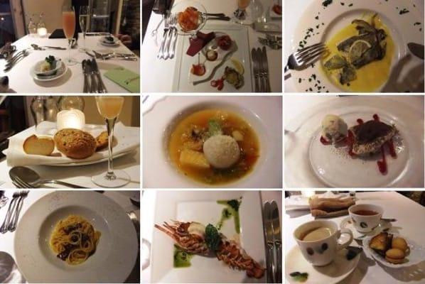 四季の蔵レストランメニューの数々