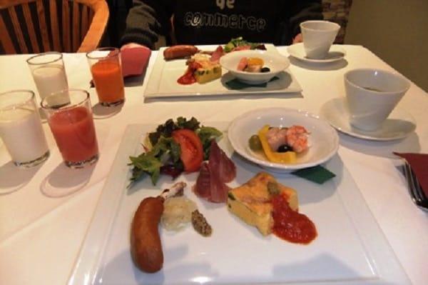 四季の蔵レストラン 朝食