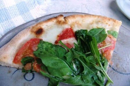 PIZZERIA La locanda del pittoreのピザ