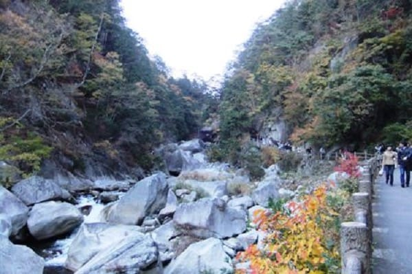 昇仙峡の散策路