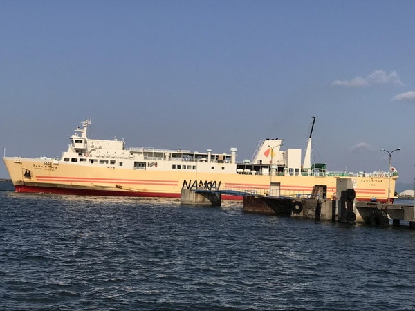 南海フェリー(和歌山⇄徳島)