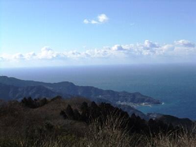 達磨山展望台から見た景色