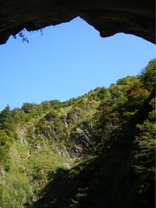 清津峡トンネル見晴台