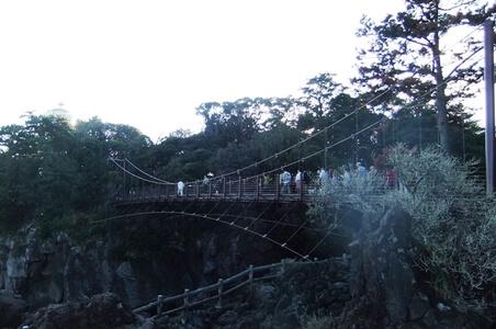 城ヶ崎ピクニカルコース吊り橋