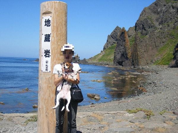 礼文島地蔵岩