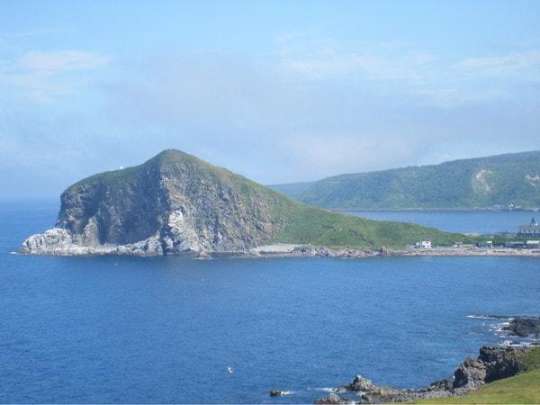 利尻島夕日ヶ丘展望台からの眺望