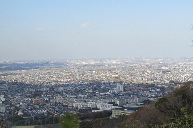 湘南平展望台からの眺め