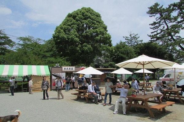 小田原城二の丸広場
