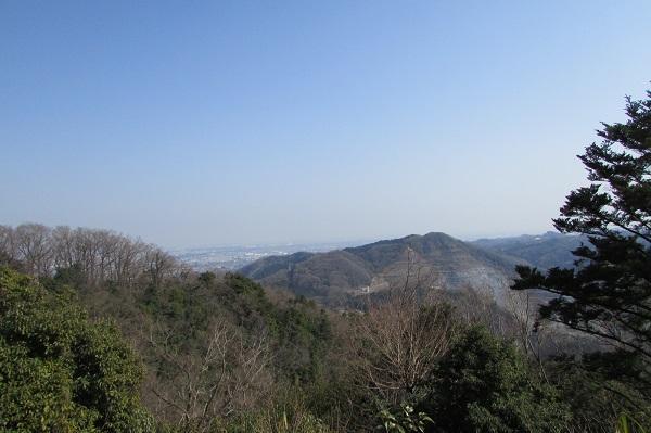 津久井湖城山公園ハイキングコース展望台