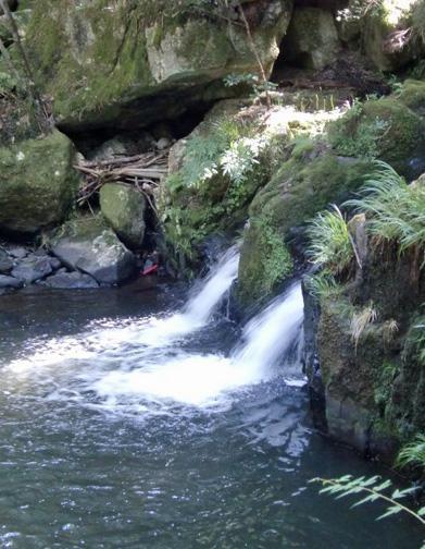 るり渓温泉 双竜の滝