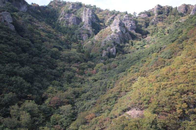 寒霞渓の景色