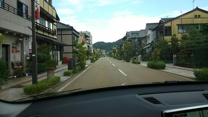 山中温泉 ゆげ街道