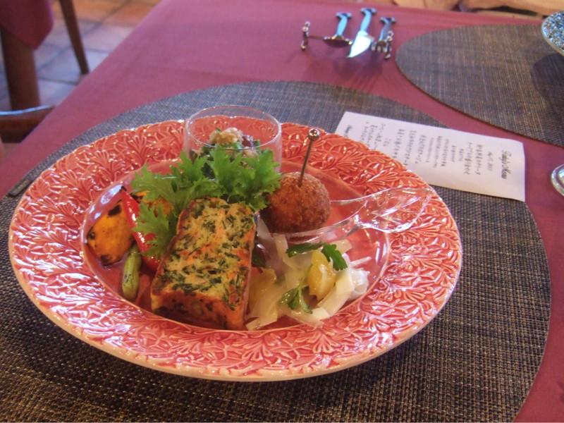 オーベルジュ赤煉瓦の創作料理