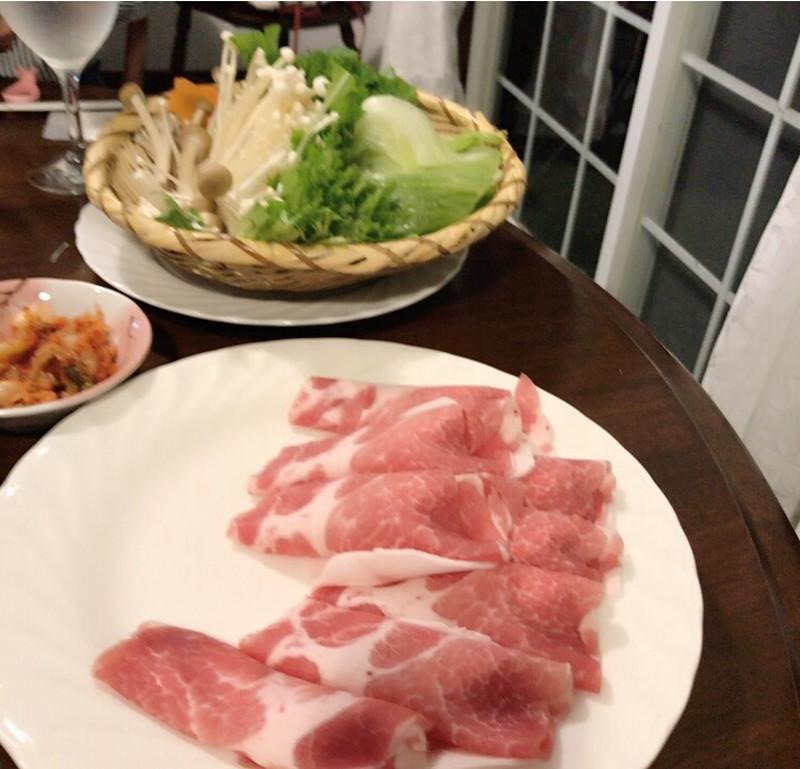 ペンションウェンディーベルの夕食の写真