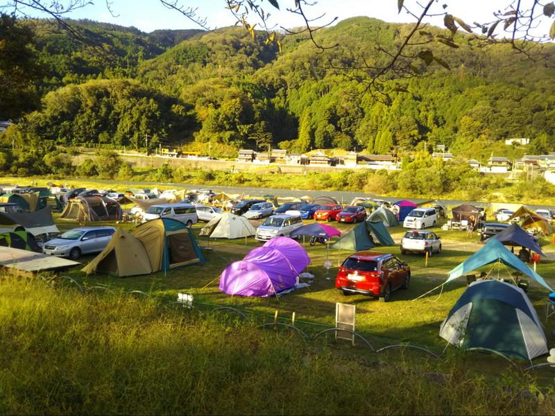 JR笠置キャンプ場