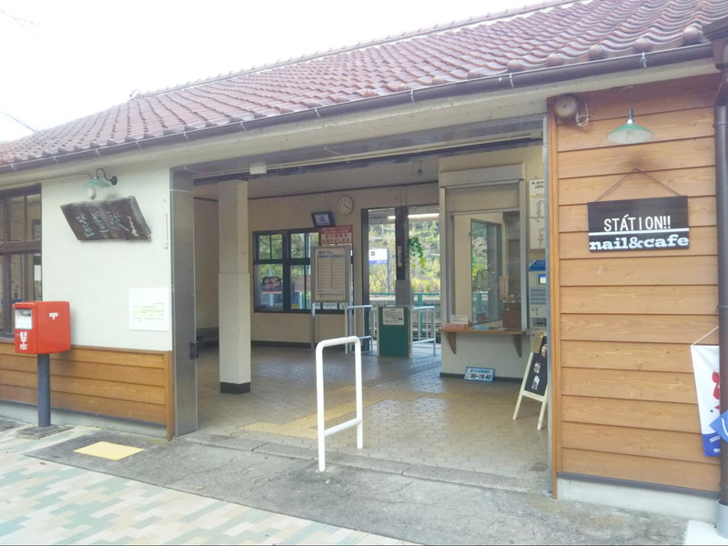 JR笠置駅の外観