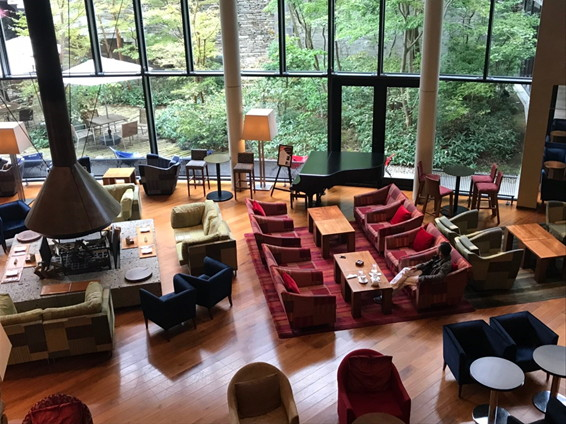 ハイアットリージェンシー箱根ホテル&スパ リビングルーム
