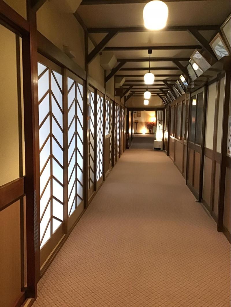 高原旅館 野辺山荘 廊下