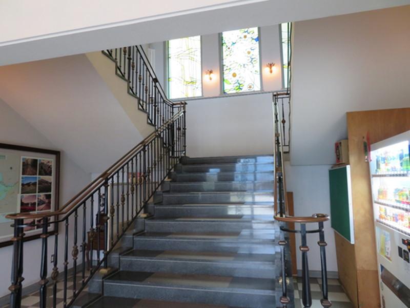 展望館階段