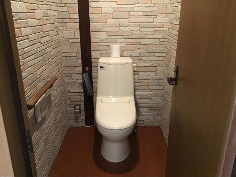 高原旅館 野辺山荘 10畳+書斎の部屋 トイレ