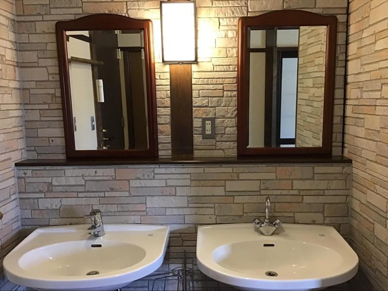 高原旅館 野辺山荘 10畳+書斎の部屋 ダブル洗面台