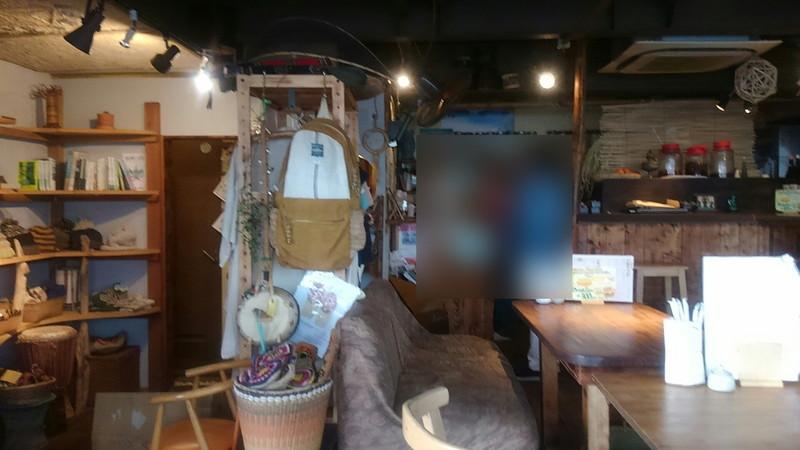 麻心鎌倉の店内の物品スペース