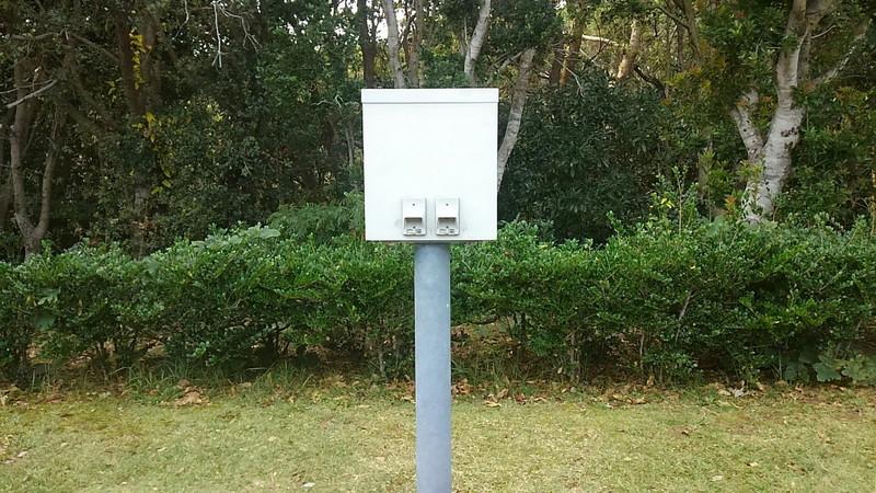 志摩オートキャンプ場 電源設備