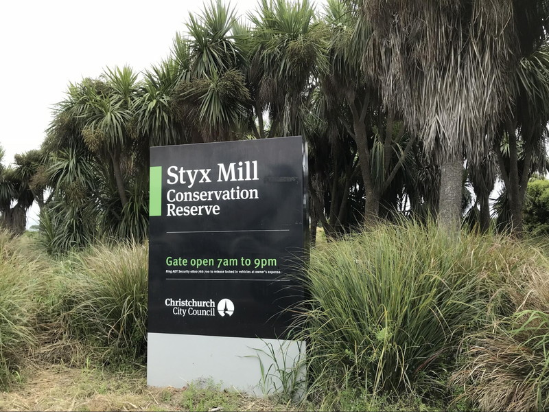 Styx Mill Conservation Reserve / Gate open 7am to 9pm