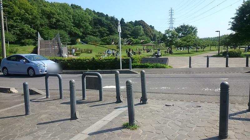 公園をつなぐ道路