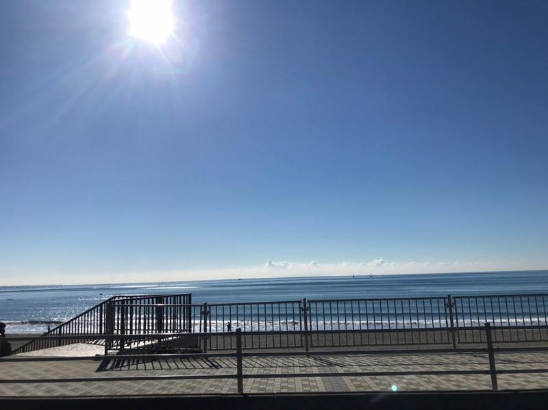 国道134号線:七里ヶ浜海岸